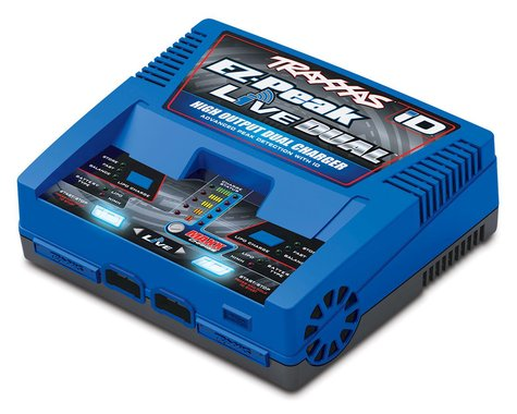 Traxxas EZ Peak Live Dual 26A NiMH/LiPo Fast Charger w/ iD TRA2973