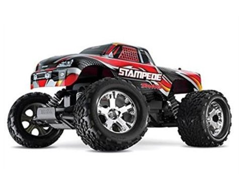 Traxxas Stampede Monster Truck with DC Charger (BlueX)