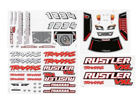 Traxxas Decal Sheets Rustler VXL TRA3713R