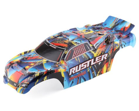 Traxxas Rustler Rock n' Roll Painted/Decaled Body TRA3748