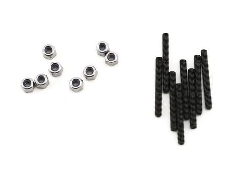 Traxxas 3x25mm Grub Set Screws with 3mm Nylon Locknuts TRA3962