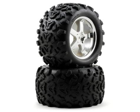 Traxxas Tires/Wheels T-Maxx 3.3 (2) TRA4973R