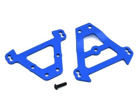 Traxxas Front/Rear Aluminum Bulkhead Anodized Blue Revo/E-Revo/Summit TRA5323