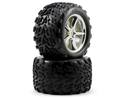 Traxxas Assembled tires Rims & Gemini Maxx Revo (2) TRA5374