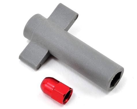 Traxxas Antenna Crimp Nut Aluminum Red-Anodized TRA5526R
