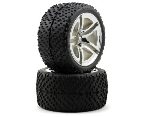 Traxxas Rear Tires & Wheels Assembled Jato (2) TRA5573