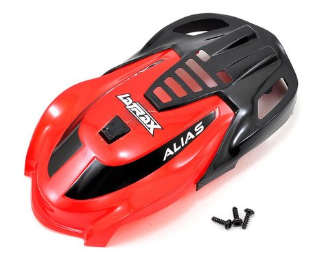 Traxxas Canopy LaTrax Alias Red TRA6611