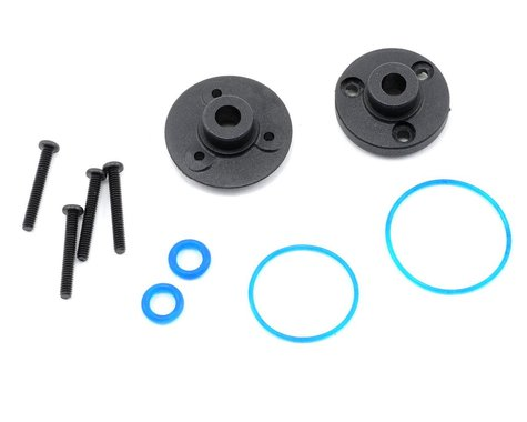 Traxxas Cover Plates/Differential/Gaskets VXL TRA7080