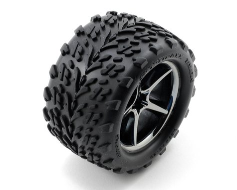 Traxxas Assembled Glued VXL Tires/Wheels TRA7174A