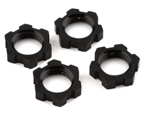 Traxxas 17mm Splined/Serrated Wheel Nuts, Black (4) TRA7758A