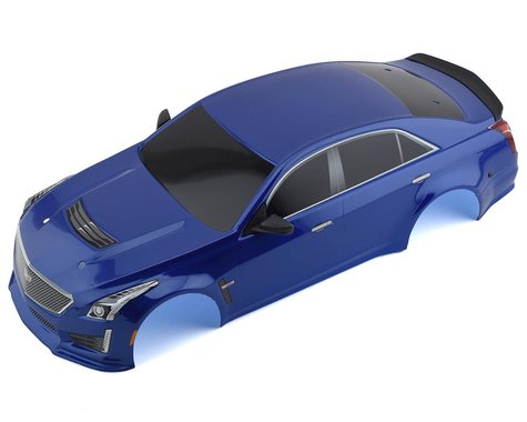 Traxxas Blue Cadillac CTS-V Painted Body for 4-Tec 2.0 TRA8391A