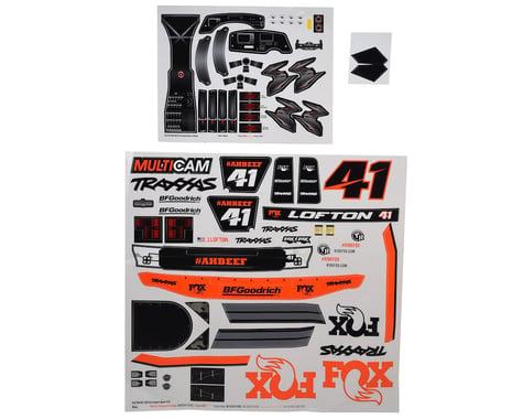Traxxas Unlimited Desert Racer Fox Edition Decals TRA8515