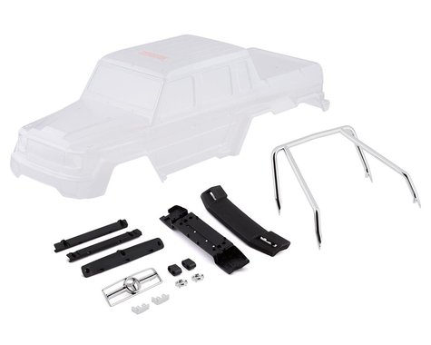 Traxxas Clear Body for Mercedes-Benz G 63 TRA8825