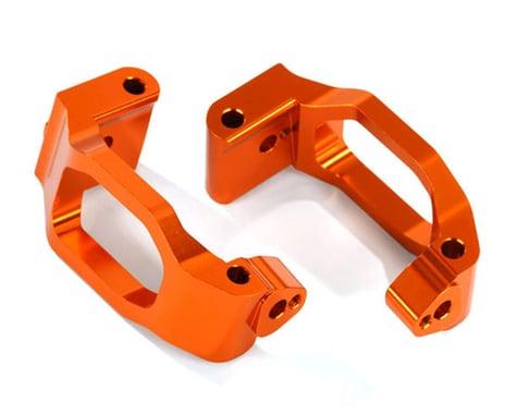 Traxxas Caster Blocks C-Hubs 6061-T6 Anodized Aluminum Orange TRA8932A
