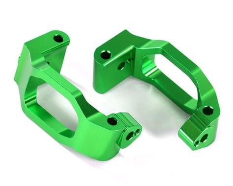 Traxxas Caster Blocks C-Hubs 6061-T6 Anodized Aluminum Green TRA8932G