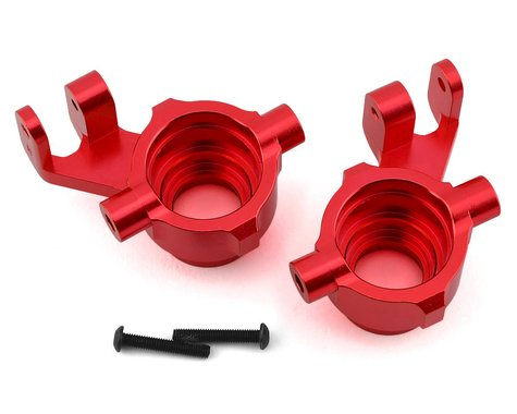 Traxxas Steering Blocks 6061-T6 Anodized Aluminum Red TRA8937R