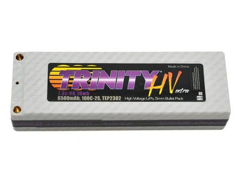 Trinity White Carbon Extra LiPo 2S 7.4V 6500mAh Hi Volt TRITEP2302