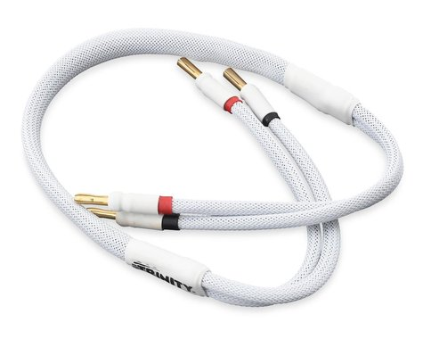 Trinity 1S Pro Charge Cable with 5mm Bullets White TRITEP2401