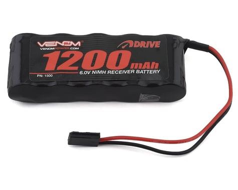 Venom DRIVE 6V 1200mAh NiMH Flat Receiver Battery VNR1500