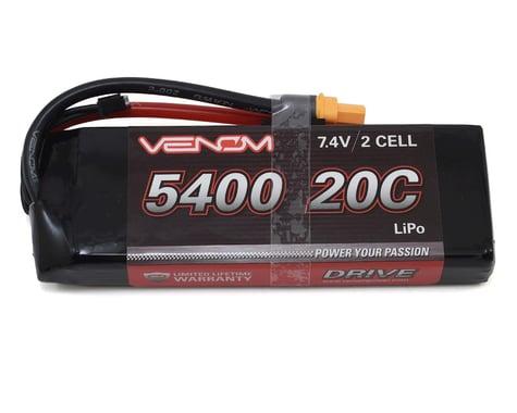 Venom DRIVE 20C 2S 5400mAh 7.4V LiPo Battery w/ UNI 2.0 Plug VNR15008