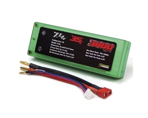 Venom Racing 15081 LiPo 7.4V 3800mAh 35C Hardcase Battery VNR15081