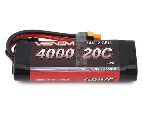 Venom DRIVE 20C 2S 4000mAh 7.4V LiPo Battery with UNI 2.0 Plug VNR15085