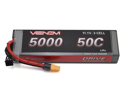 Venom DRIVE 50C 3S 5000mAh 11.1V LiPo Hardcase Battery w/ UNI 2.0 Plug VNR15129