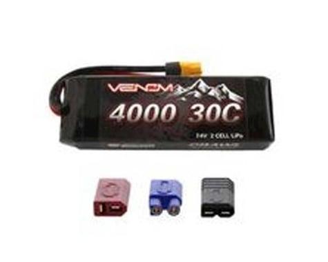 Venom 30C 2S 4000mAh 7.4V Rock Crawler LiPo Batt UNI VNR15191