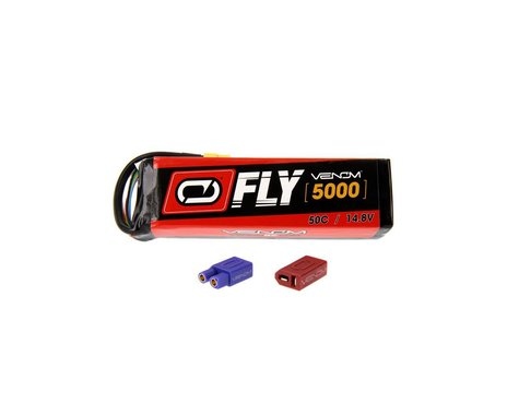Venom LiPO 4S 14.8V 5000mAh 50C Universal Plug 2.0 Fly VNR25046