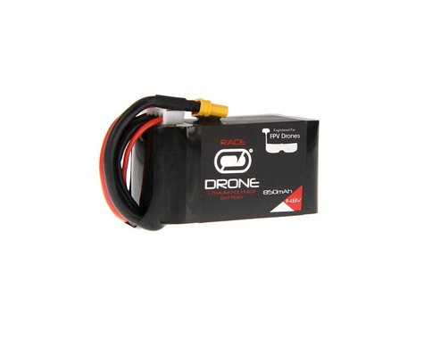Venom Power 75C 14.8V 850mAh 4S Drone Racing LiPo :XT30 Plug