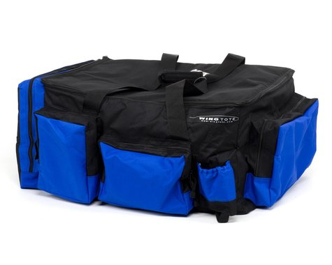 Wing Tote 1/8-1/10 Truck Tote Blue Deluxe Bag WGT411