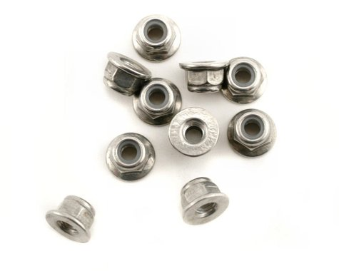 Xray Nut M4 With Flange (10)